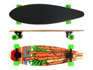 MAXOfit® Longboard Cartoon No.05, 84 cm