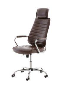 Bürostuhl CP298, Bürosessel Drehstuhl  bordeaux