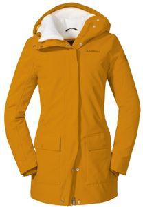 Schöffel Rotterdam Isolierende Jacke Damen golden oak Größe DE 40 | L
