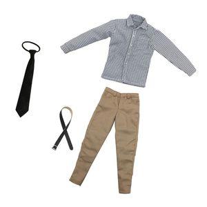 1/6 Männliche Kleidung Freizeithosen Krawatte für 12 Zoll Actionfiguren Hottoys, CY Mädchen