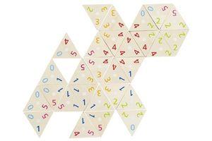 Tri-Domino 76 Teile, per St