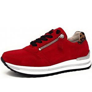 Gabor Comfort Sneaker Rot Größe 6, Farbe: rubin