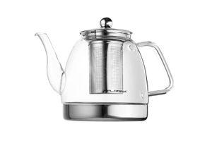 Induktion - Glas Teekanne 1,2L mit Teefilter DUX