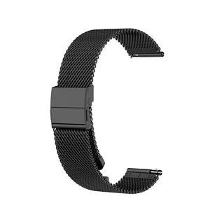 Garmin Armband 20 mm (Ersatz) Edelstahl Schwarz