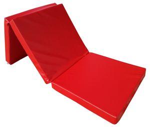 Natalia Spzoo® Klappmatratze Faltmatratze Gymnastik Matratze 195x65x8cm, Rot