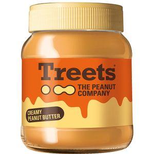 Treets Spread Creamy Peanut-Butter 340g