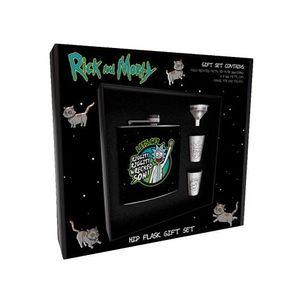Rick & Morty Flachmann Geschenkset -  »Wrecked«