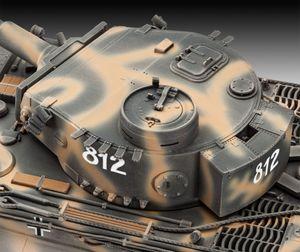 Revell Geschenkset Tiger I Ausf.E 75th Anniversary - Schiff-Modellbausatz; 5790