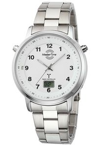 Master Time MTGA-10696-22M Herren Funk-Armbanduhr Specialist mit Stahlband