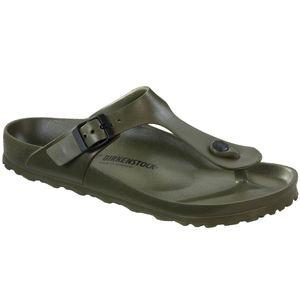 Birkenstock Gizeh EVA Flips Normal khaki Schuhgröße EU 39 | Regular