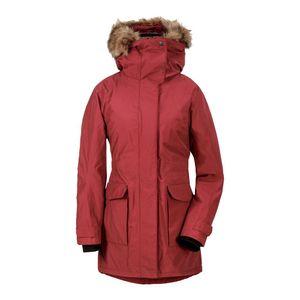 Didriksons Meja Womens Parka 4 - Wintermantel mit Webpelzbesatz, Größe_Bekleidung_NR:38, Didriksons_Farbe:velvet red