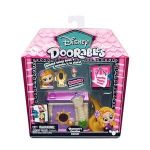Disney Doorables - Rapunzels Creative Angle Junior rosa/weiß