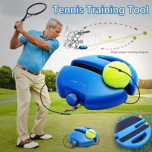 Tennis Trainer, Tennisbällen Halterung Mit Einem Seil Zum Solo Trainieren, Tennis Baseboard mit Eine
