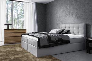 Boxspringbett Schlafzimmerbett VIDE 160x200cm inkl.Bettkasten