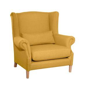 Max Winzer Harvey Big-Sessel - Farbe: gelb - Maße: 115 cm x 95 cm x 117 cm; 30001-1100-1645254-F01