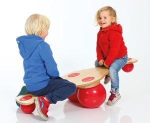 TOGU Balanza Kinderwippe, holzfarben mit rot