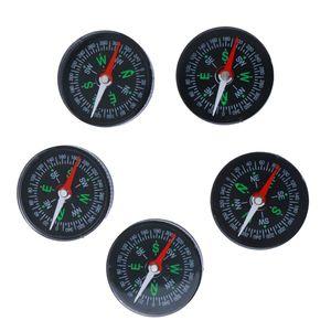 5 Stück Acryl Kompass / Taschenkompass für Klettern Wandern usw. im Freien / Outdoor Aktivitäten