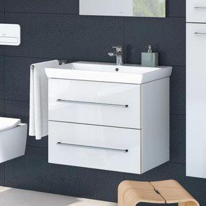 Villeroy & Boch Waschtischunterschrank AVENTO 580 x 514 x 452 mm Crystal White