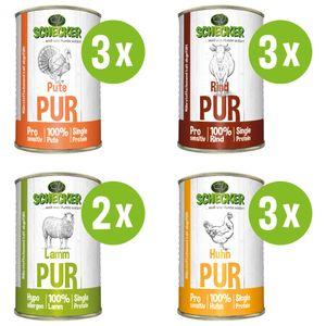 DOGREFORM Pur 11-er Hundefutter Dosenfutter Nassfutter ideal auch zum BARFen