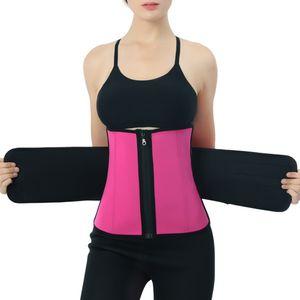 Bauchweggürtel Bauchgürtel Schwitzgürtel Fitness Gürtel Sport Taillengürtel Größe Rot XXL