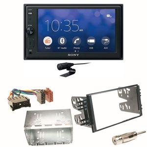 Sony XAV-V10BT Moniceiver Bluetooth Einbauset für Kia Sorento JC Rio DC Carnival
