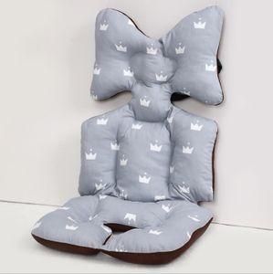 Universal Sitzauflage für Kinderwagen, Buggy Kindersitz und Babyschale, Atmungsaktive Sitzeinlage, Cover Kinderwagen Kissen für kinderwagen,Kinderwagen Sitzauflage Sitzpolster (P)