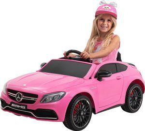 Kinder-Elektroauto Mercedes AMG C63 Lizenziert (Pink)