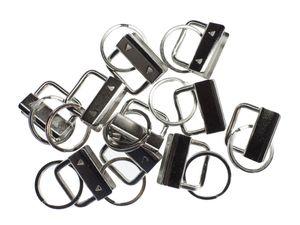 10x Schlüsselanhänger DIY Anhänger Schlüssel Basteln Endkappen Schlüsselband