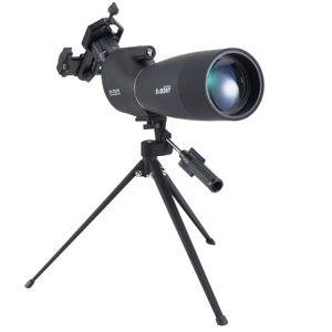 Svbony SV28 Teleskope Spektiv, 25-75x70 Spektiv mit Stativ, HD BAK4 Prisma FMC Objektiv Spektiv mit Telefonadapter für Zielschießen, Teleskope & Zubehör