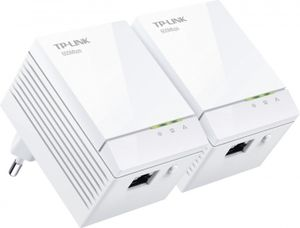 TP-Link AV600 Gigabit Nano Powerline Adapter Starterkit (TL-PA6010KIT)