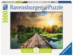 1000 Teile Ravensburger Puzzle Nature Edition Mystisches Licht 19538