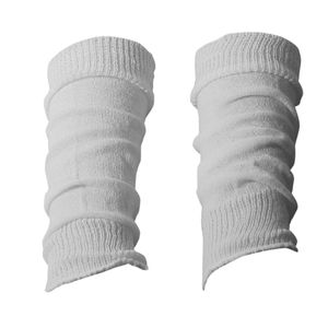 1 Paar Dietzl Stulpen für Teenager und Damen , Farbe:Weiß; Größe:One size