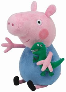 TY beanie boos Stofftier Plüschtier Peppa Baby George 15cm FIX3 Spielzeug