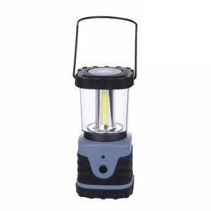 10T HPL 500 - Camping-Lampe mit 500 Lumen, 4 COB LED, 12W (4x3 W), 87x87x185 mm, 418g