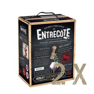 Rotwein Frankreich Cuvée Entrecôte Bag in Box trocken (2x5L)