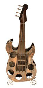 Weinregal Gitarre für 6 Weinflaschen H 104 cm Flaschenhalter