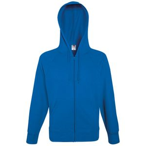 Fruit of the Loom Lightweight Hooded Sweat Jacket, Farbe:royal, Größe:M