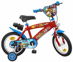 14 Zoll Disney Kinder Jungen Fahrrad Kinderfahrrad Jungenfahrrad Kinderrad Rad Bike Paw Patrol Blau Rot