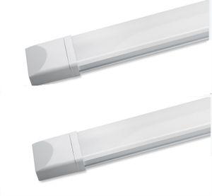2×ANTEN LED Feuchtraumleuchte  36W 1,2M IP65 natürliches weißes Licht (4000K) für Kaufhäuser, Hauswirtschaftsräume, Werkstätten, Keller, Garagen, kann an die Decke angeschlossen werden [Energieklasse A +]