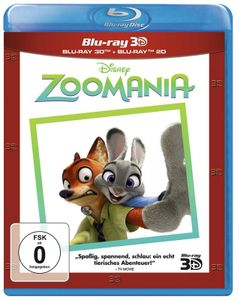 Zoomania Superset [Blu-ray 3D+2D]