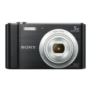 Sony Kompaktkamera DSCW800B, 20,1MP, Farbe: Schwarz