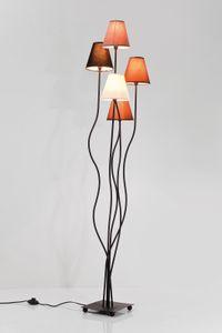Kare Stehlampen Flexible Mocca Cinque ; Maße (HxBxT): 163 cm x 40 cm x 35 cm, 36193