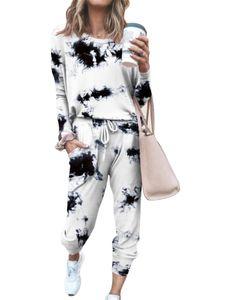 Damen Sportswear Freizeitanzug T-Shirt Pullover Sportanzug,Farbe: Schwarz,Größe:M