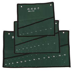Schraubenschlüssel Werkzeugtasche Werkzeugrolltasche Rolltasche Werkzeug Tasche ( 14 Fächer ) Stil EIN