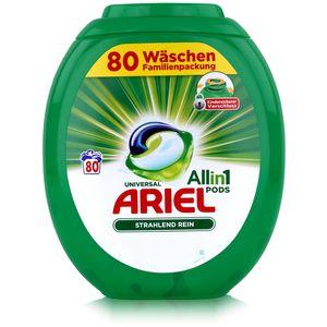 Ariel Allin1 Pods Universal Waschmittel für 80 Waschladungen (1er Pack)