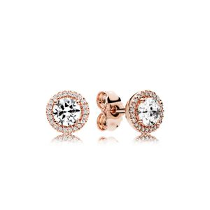 Pandora Rose 286272CZ Ohrringe Klassische Eleganz