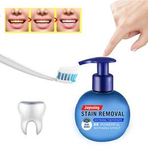 Blaubeere 220g Zahnaufhellung Zahnpasta Backpulver Push Zahnpasta Aufhellung Flaschen Zahnpasta jaysuing