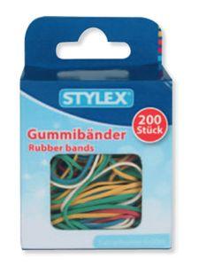 Stylex Gummiringe 200 StÃ1/4ck ver. Größen 31322