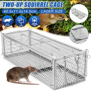 Meco Mausefalle Lebendfalle Rattenfalle 40cm Groß XXL Falle Mäuse Ratten Lebend Tier