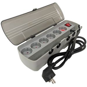 Details zu  Brennenstuhl Stromverteiler E-Box 6-fach 240V